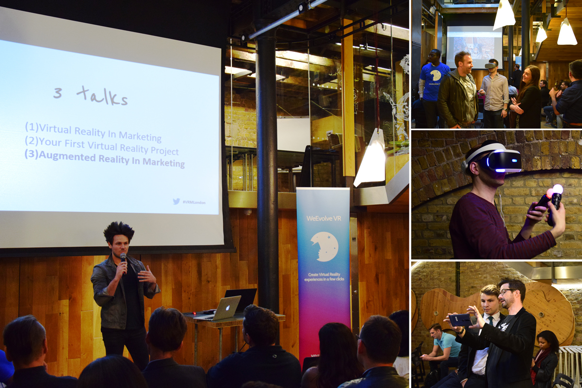 Photos from the event Virtual Reality In Marketing - London